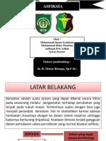 Paper Forensik (Asfiksia)