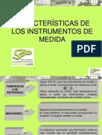 2 Características de Los Instrumentos de Medida