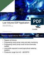 Low Volume Esp Application