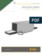 Manual de Operação XIS1818 320kV