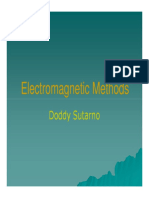 Metode Elektromagnetik - Introduction (by Doddy Sutarno)