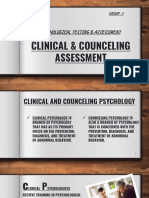 Clinical and Counceling Assessment