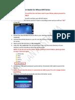 Firmware Installation Guide Mivue 6XX Series