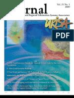 URISA Journal Volume 21 No.1 2009