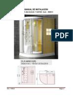 ORANS Sauna OLS – W0513 installation guide