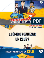 Como ORGANIZAR Un Club de Conquistadores ANOP