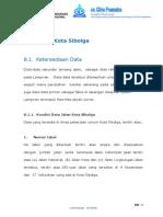 BAB 8 Data Jalan Kota Sibolga.doc