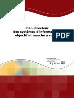 Plan Directeur Des Systemes D-Information Objectif Et Marche a Suivre