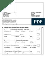 CBSE Class 3 Social Science Sample Paper Set B