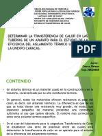 Transf. de Calor - Practica 2