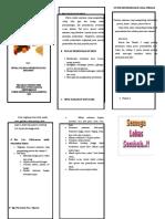 290587946 Leaflet Perawatan Post Op Dan Nutrisi Untuk Penyembuhan Luka