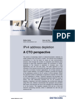 IPv4 address depletion