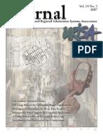 URISA Journal Volume 19 No. 2 2007