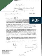Lettre D. Bussereau PGS