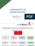 Administración sesión 7