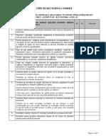 Checklist Igiena Comert
