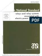 IEEE C37.90 Relays and Relay Systems Associated With Electric Power Apparatus