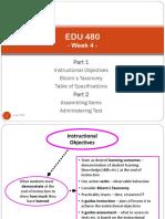 EDU 480 - Week 4