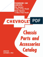 1938-1964 Chevrolet Chassis Parts and Accessories Catalog