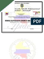 Certificado de Bautismo
