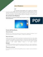 Sistema Operativo Window1