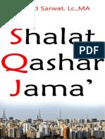 8. Shalat Qashar Jama' Ahmad Sarwat, Lc., MA .pdf