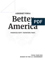 Read Trump budget proposal