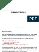 8 DEMAGNETIZATION