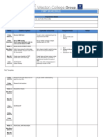 fmp schedule template