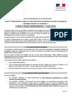 Fdva 2 Appel a Projet 2019