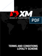 XMGlobal Terms and Conditions Loyalty Program