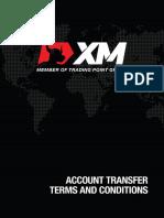 XMGlobal Transfer T&Cs