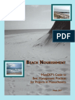 Beach Nourishment Massdeps Guide to Best Management Practices for Projects in Massachusetts Haney