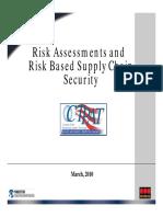 2010 Seminar Risk Assessment Training