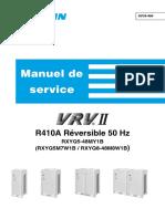 Sif39-404. Manuel de Service. r410a Réversible 50 Hz Rxyq5-48my1b (Rxyq5m7w1b _ Rxyq8-48m8w1b)