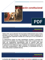 Interpretación-constitucional