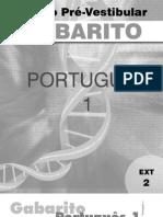 Português - Pré-Vestibular Dom Bosco - gab-por1-ex2