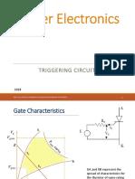 Triggering circuit