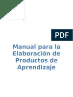 97170565 Manual de Productos de Aprendizaje Trabajos Independientes 1