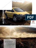 SEAT Altea Freetrack brochure