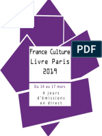 France Culture à Livre Paris 2019