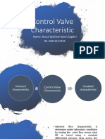 Control Valve Characteristic PPT