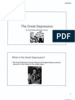 great depression sample