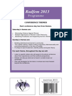 Programme Final Radfem 2013