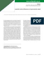 Arias-Flores, R - La aceptación a la vacunación contra influenza en el personal de salud