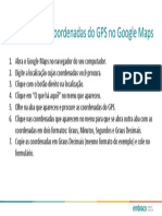 Como Pegar as Coordenadas Do GPS No Google Maps