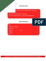 Trabajo Fin de Módulo Comunicacion Corporativa ENEB