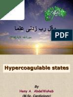 Hypercogulable States