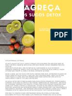 emagracer com suco detox