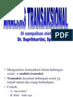 Analisis Transaksional Dr Supri